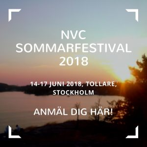 NVC Sommarfestival Sverige Joachim Berggren Kommunikation