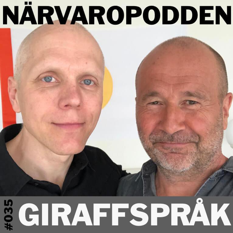 Narvaropodden-Giraffsprak Podcast Joachim Berggren Kommunikation