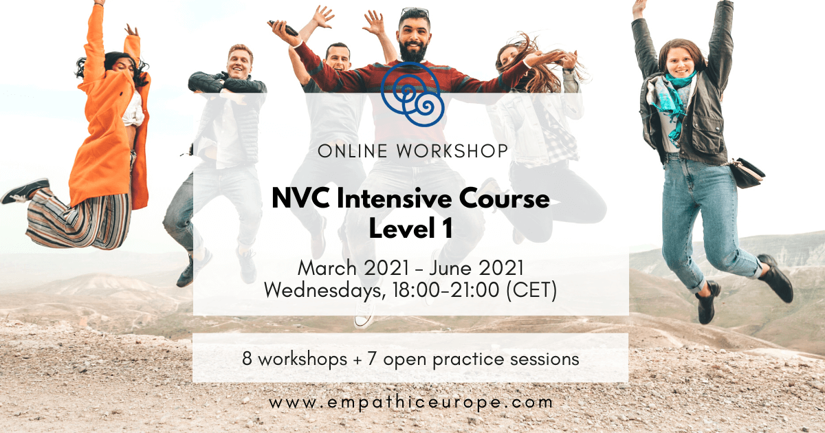 NVC Intensive Course Level 1 Edition 2 Empathic Way Europe