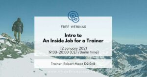 intro to an inside job for a trainer