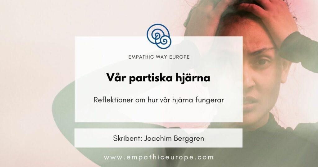 Blogg Vår Partiska Hjärna Joachim Berggren Kommunikation