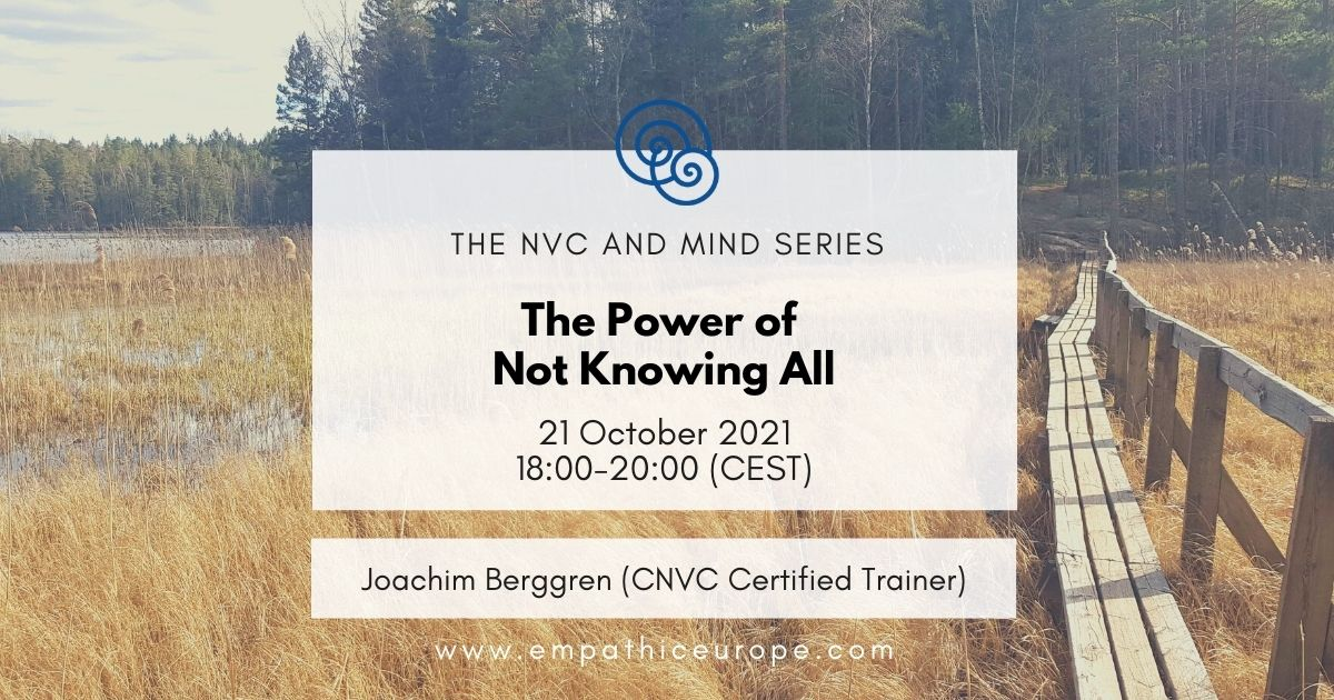 Events Empathic Way Europe NVC and Mind Part 1
