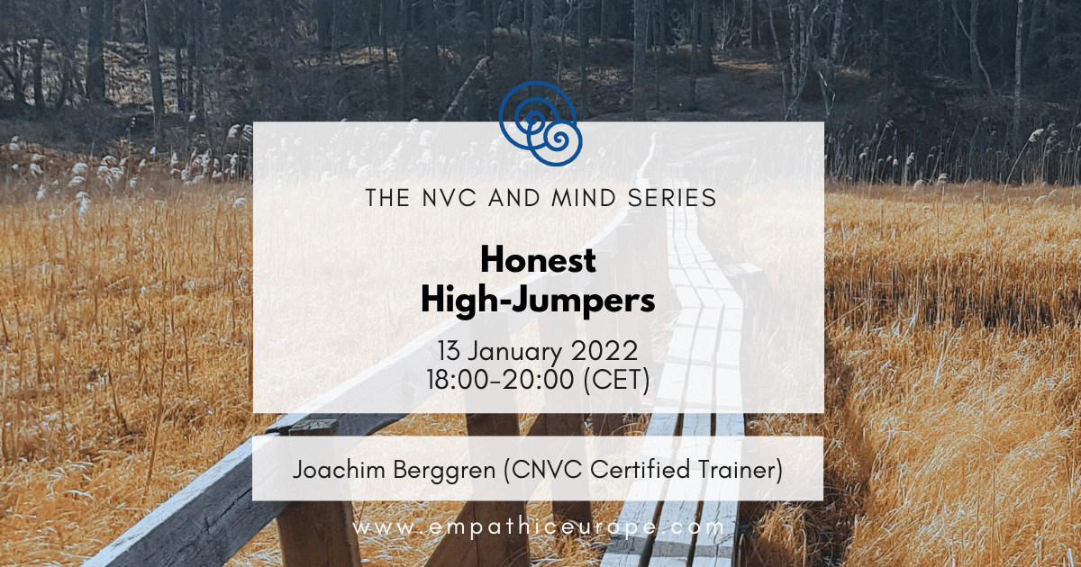 Honest High-Jumpers Empathic Way Europe Joachim Berggren